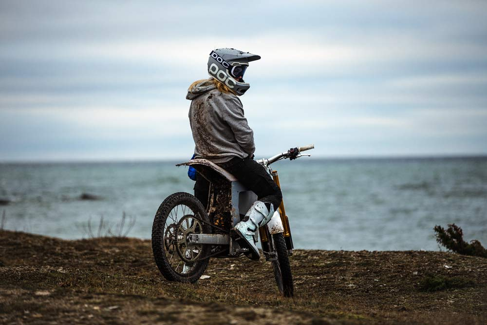 Cake Kalk electric offroad motorcycle dirt bike from POC founder