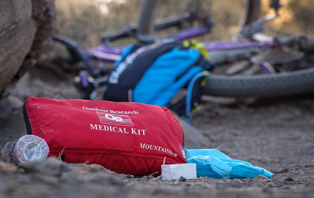 First Aid: What are the 5 most common mountain bike crash