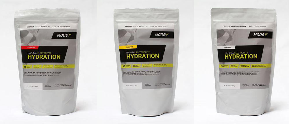 MODe Sports Nutrition natural hydration sports drink mix