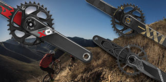 sram dub universal mountain bike crankset fits any bottom bracket standard