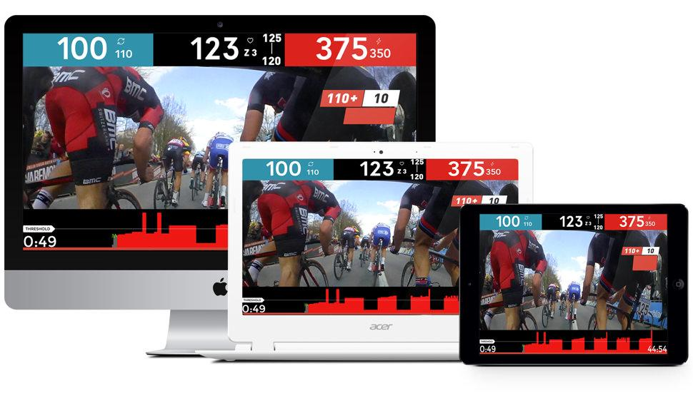 The Sufferfest indoor cycling training app 4dp four dimensional power android version
