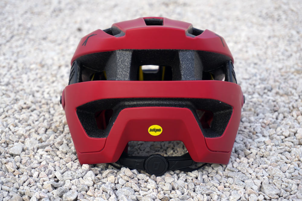 all new 2018 fox racing flux enduro mountain bike helmet gets MIPS and other standout safety and comfort features