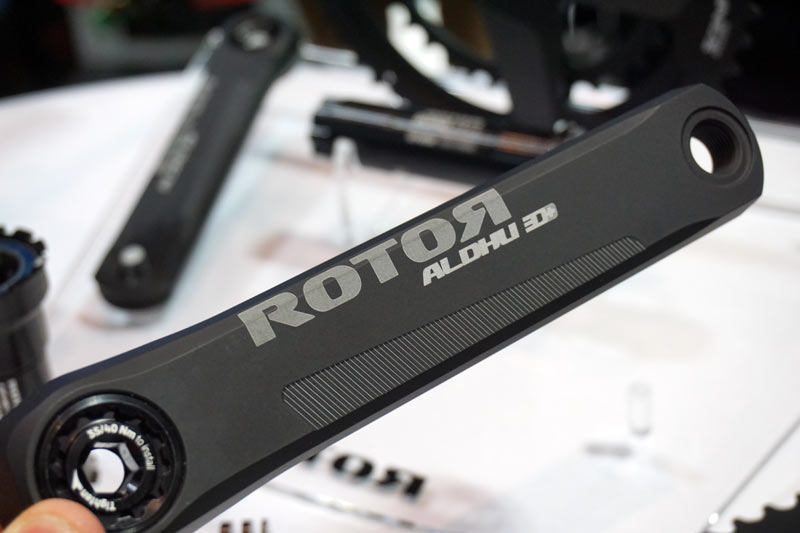 2018 Rotor Aldhu are their lightest road bike cranks