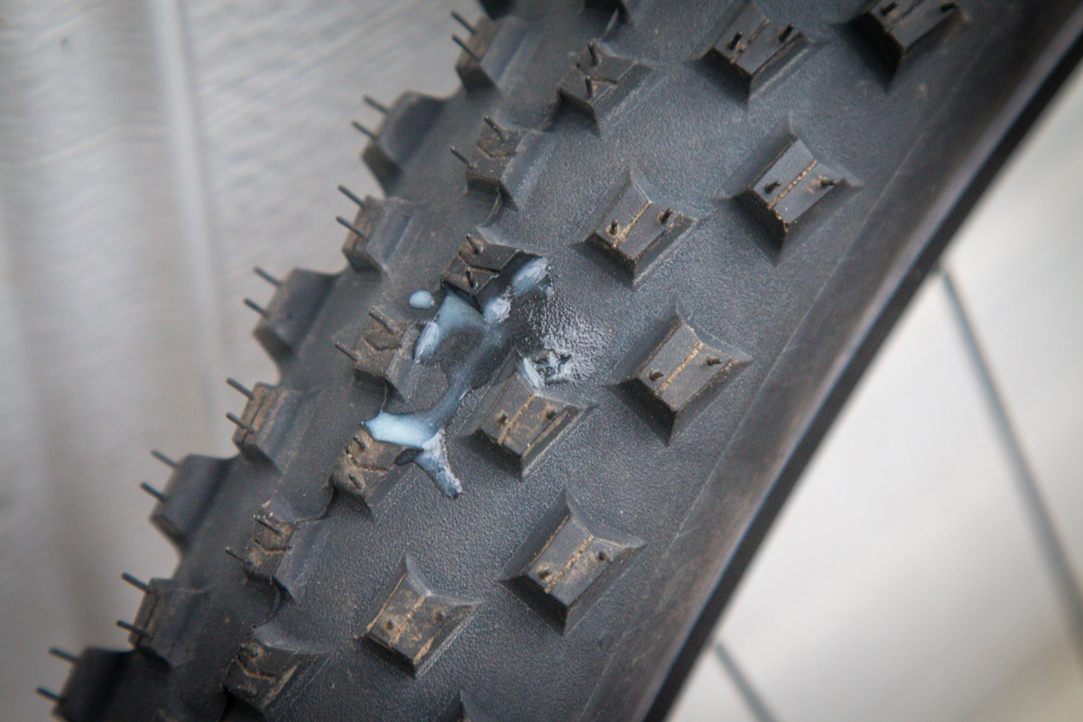 New Finish Line Tubeless Tire Sealant will never dry out