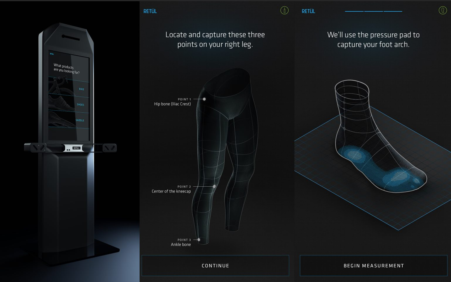 Retul Match offers quick fitting and sizing recommendations to riders in as little as 15 minutes.