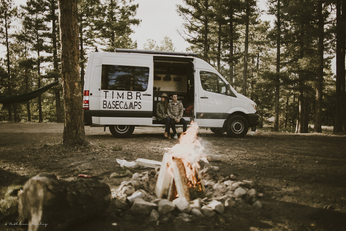 Get a taste of vanlife with a rented 4x4 camper van from Durango's Tonto Trails