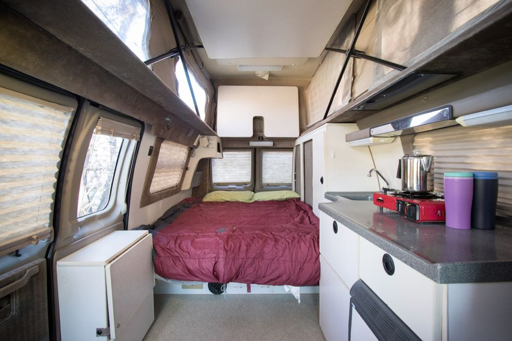Tonto Trails of Durango offers rental camper vans for the ultimate bike trip.