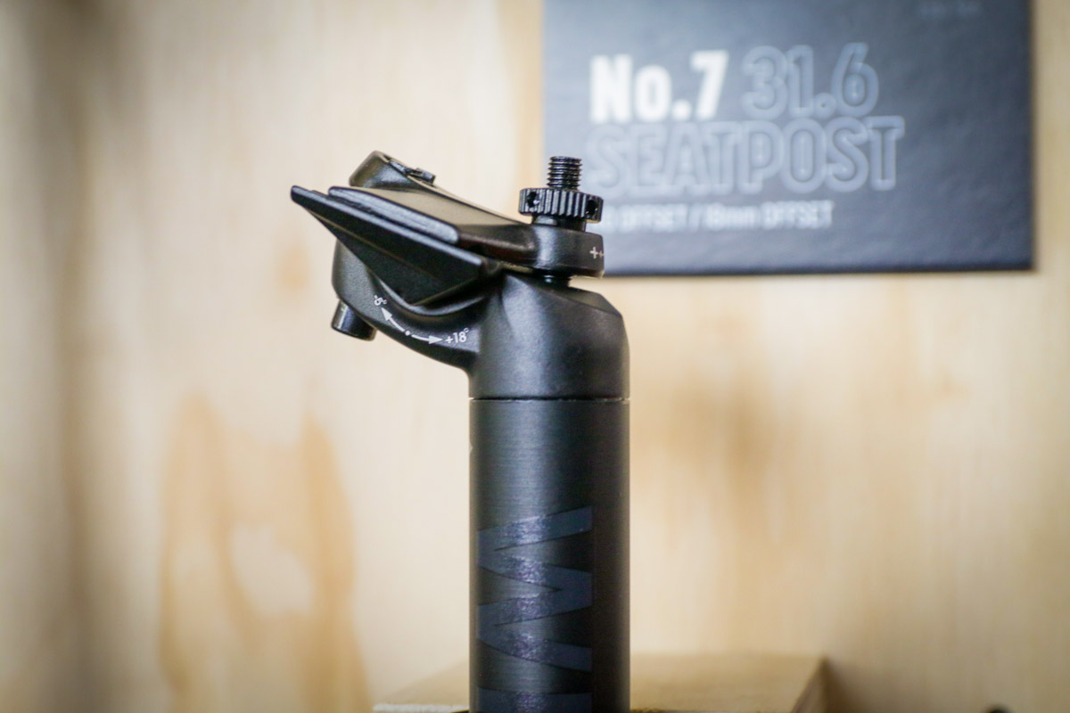FB18: Whisky Parts Co. ages well w/ new carbon road rims, alloy parts, more