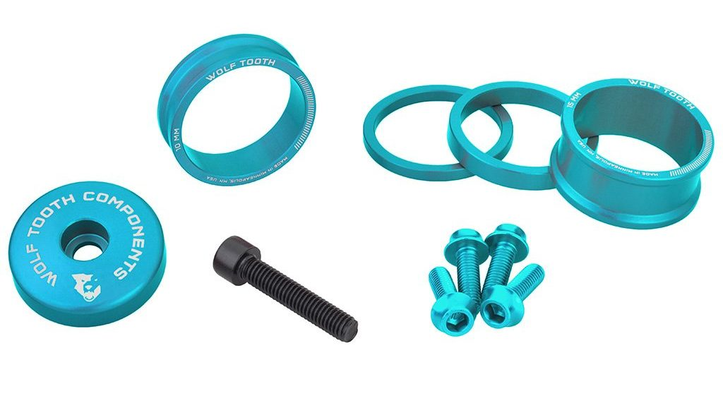 Wolf Tooth Components Teal limited edition gets real