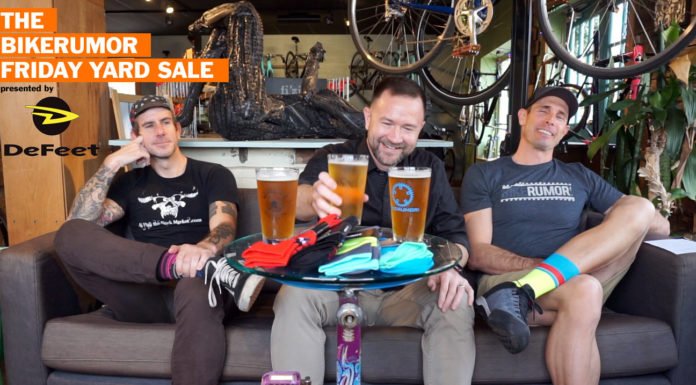 Bikerumor Friday Yard Sale is the best cycling industry weekend recap for new bikes components and tech