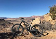 bikerumor pic of the dayRiding Wire Mesa in southern Utah on the Yeti SB4.5. Views of Zion National Park abound making it difficult to keep your eyes on the trail.