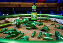 Sierra Nevada Pale Ale green ano Paul Component and White Industries bike parts