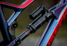 2019 Rockshox Super Deluxe rear shock upgraded with new internals for lower friction
