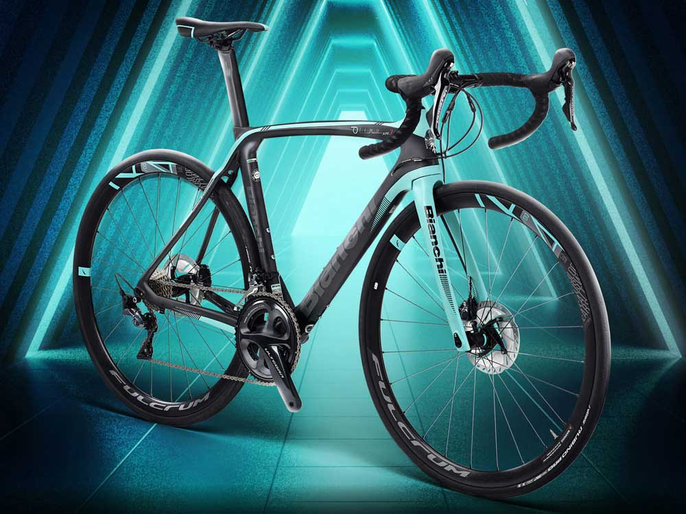 New Bianchi Oltre XR3 Disc is their first disc brake ...
