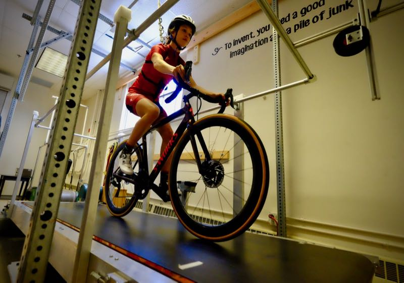 Specialized hired Rodger Kram to help test the most accurate power meter in the world.