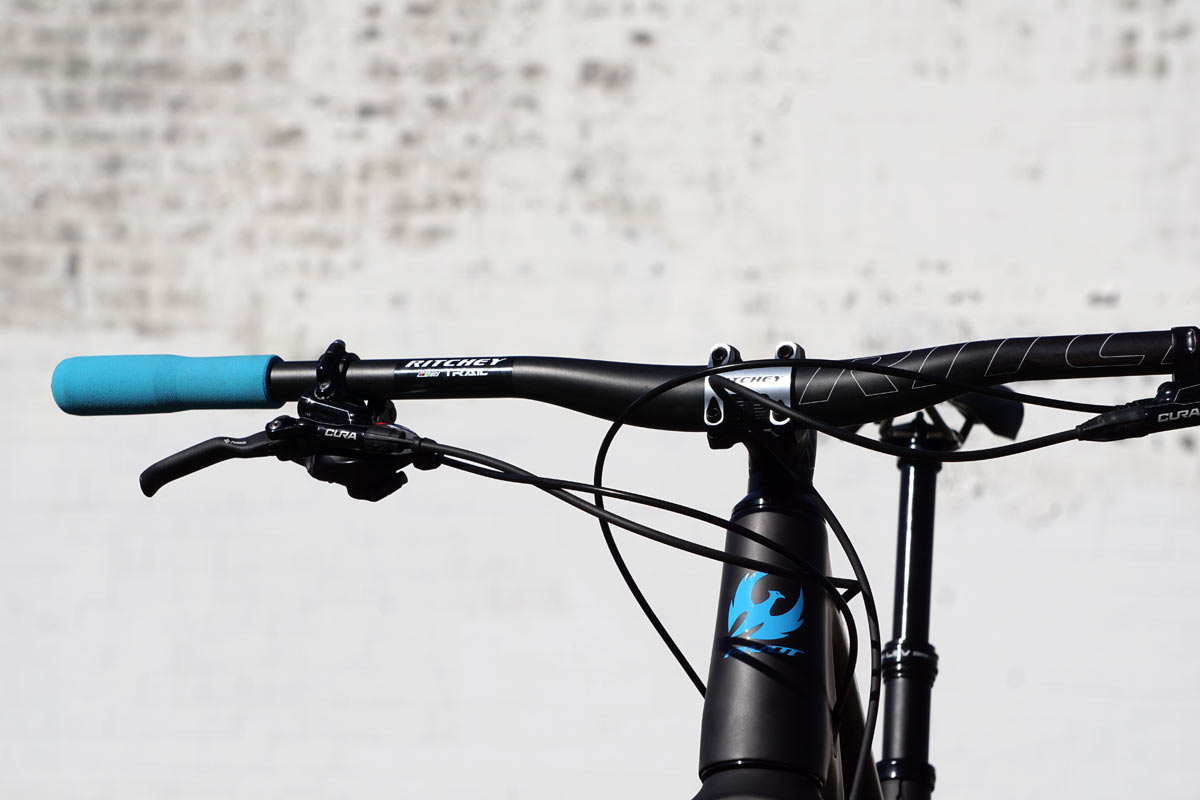 ritchey was trail 35 carbon fiber handlebar and 220 stem review