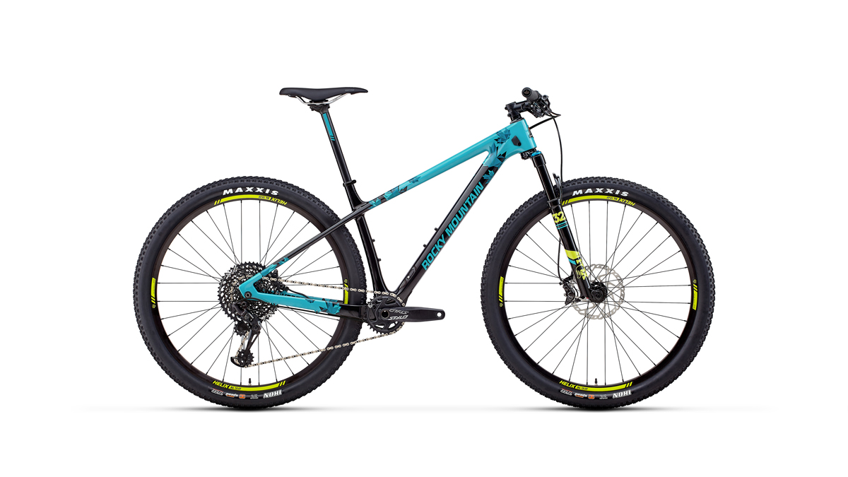 Rocky Mountain Vertex XC hardtail offers their highest end carbon yet