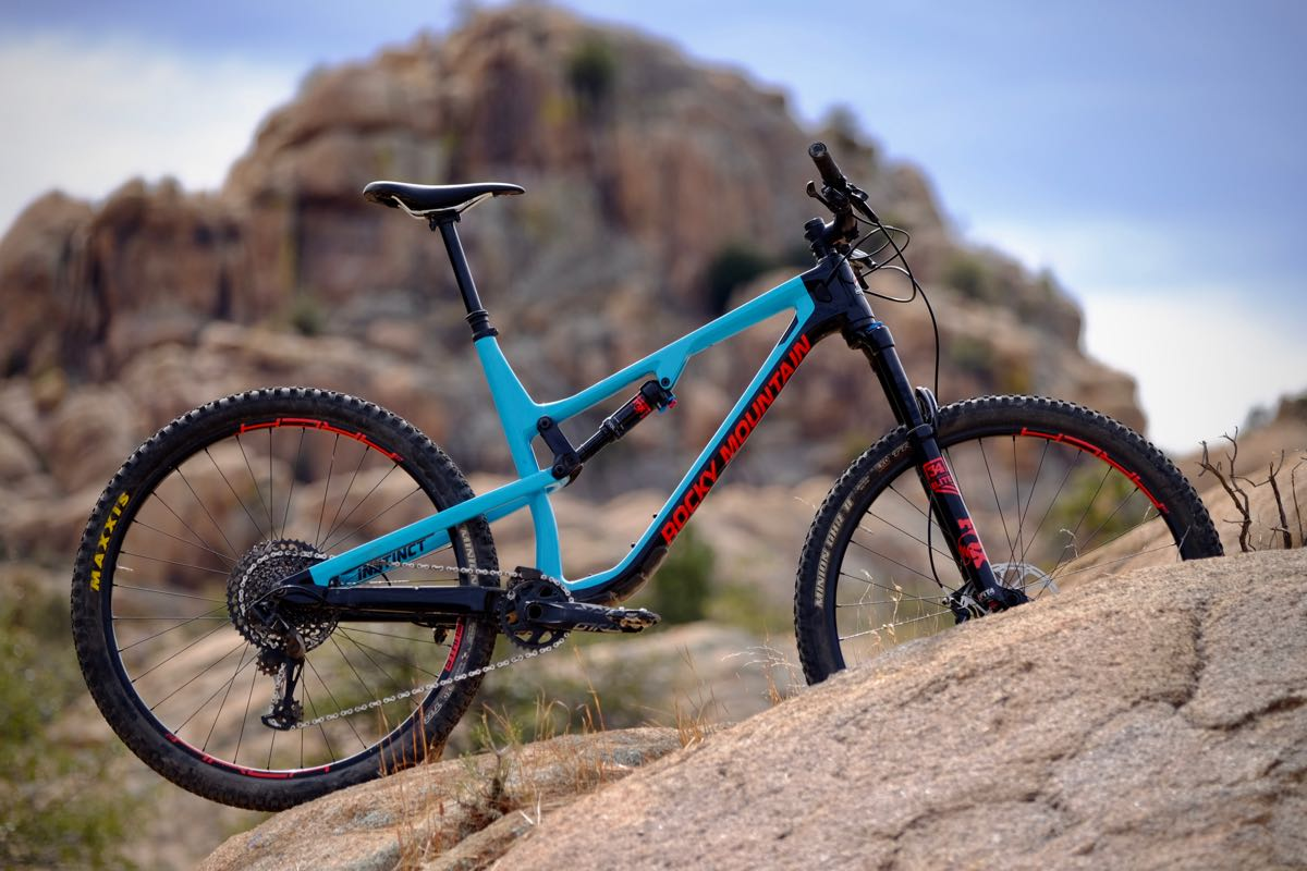 The next generation Instinct from Rocky Mountain has more travel than before.