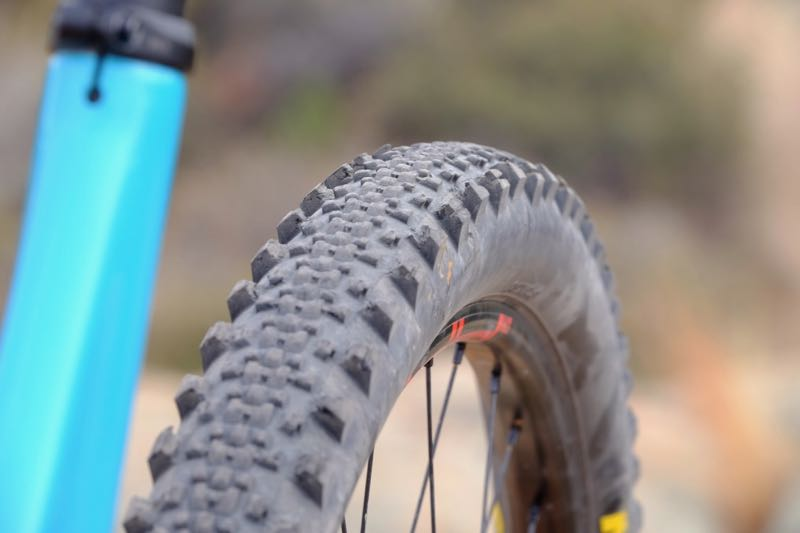 Tire designers have to use many methods to reinforce tread features to endure ride forces.