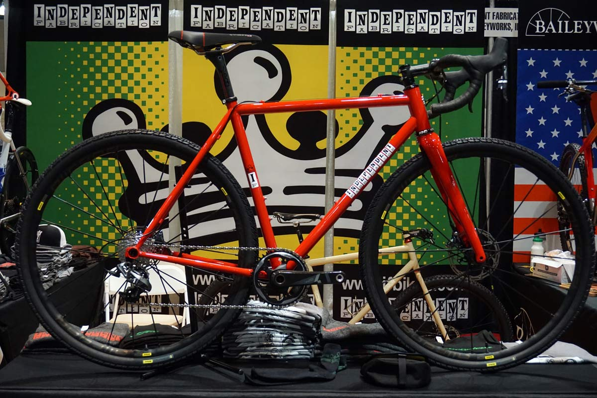 indy fab gravel bike from NAHBS 2018