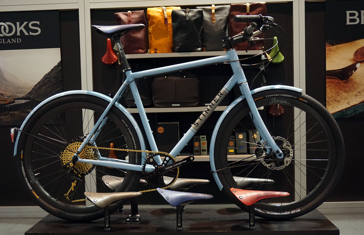 nahbs 2018 stunner blue commuter bicycle
