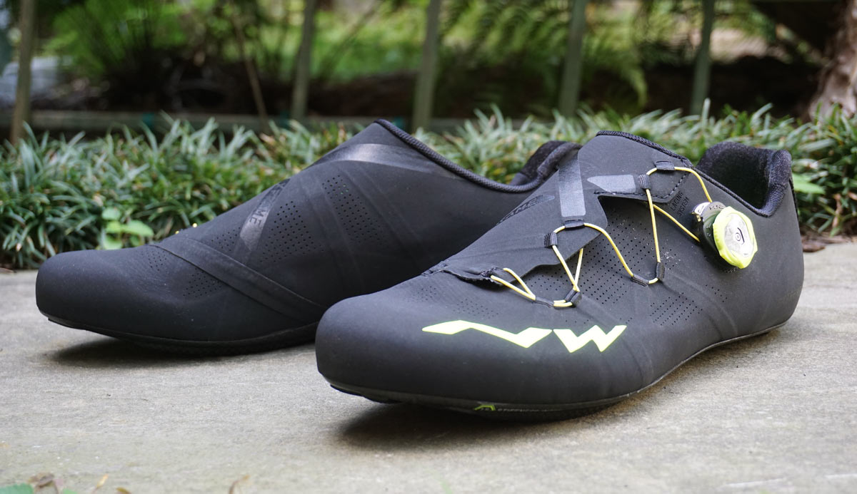 northwave extreme RR Xframe ultralight road bike shoes review and actual weight