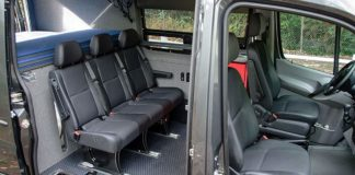 how to add custom seating to sprinter van or camper van