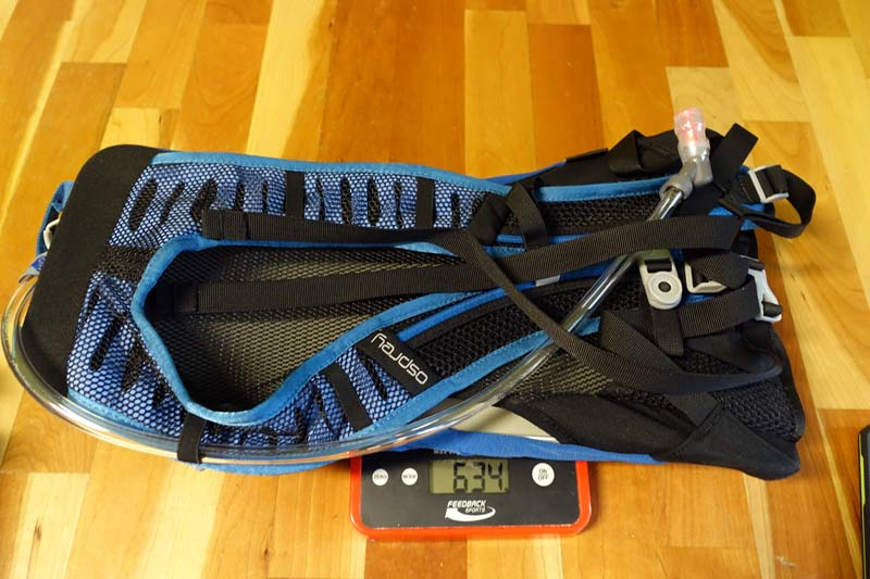 osprey syncros 3 minimalist hydration pack review and actual weight