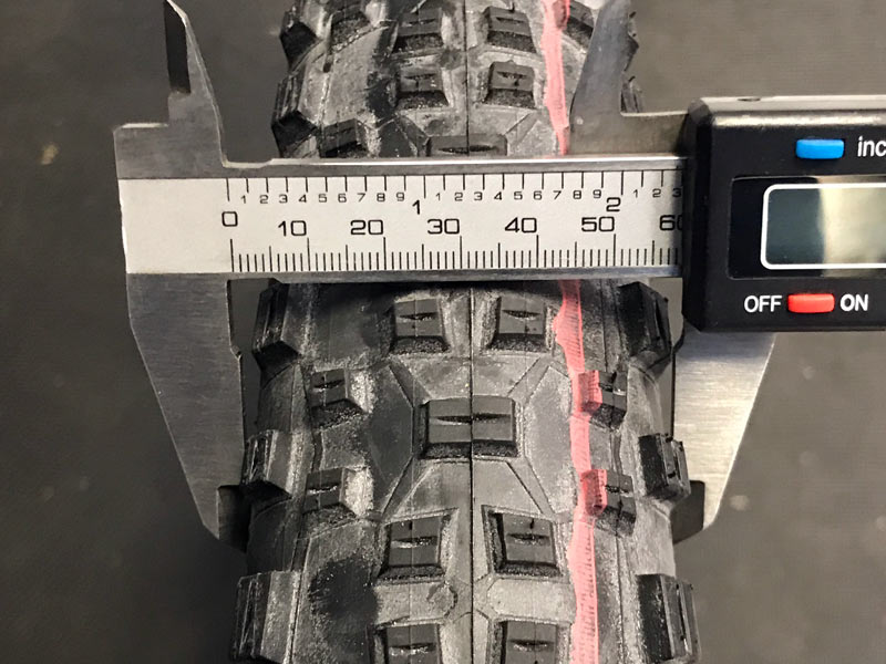 Schwalbe Addis racing ralph actual width and weight review
