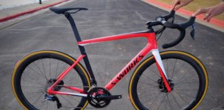 The Tarmac Disc is the latest bike in the S-works lineup.