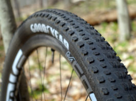 2018 Goodyear Peak XC mountain bike tire review and actual weights