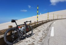 bikerumor pic of the day, cycling Mont Ventoux, France.