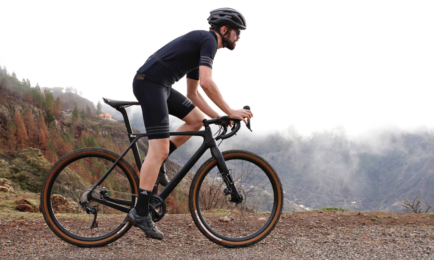 8bar Carbon Grunewald Takes Road Geometry Off Road Onto