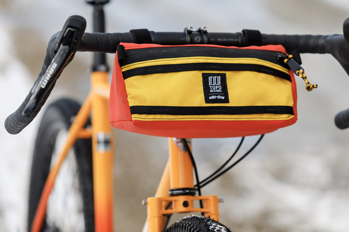 All City Teams Up With Topo Designs For Handlebar Bag Collaboration