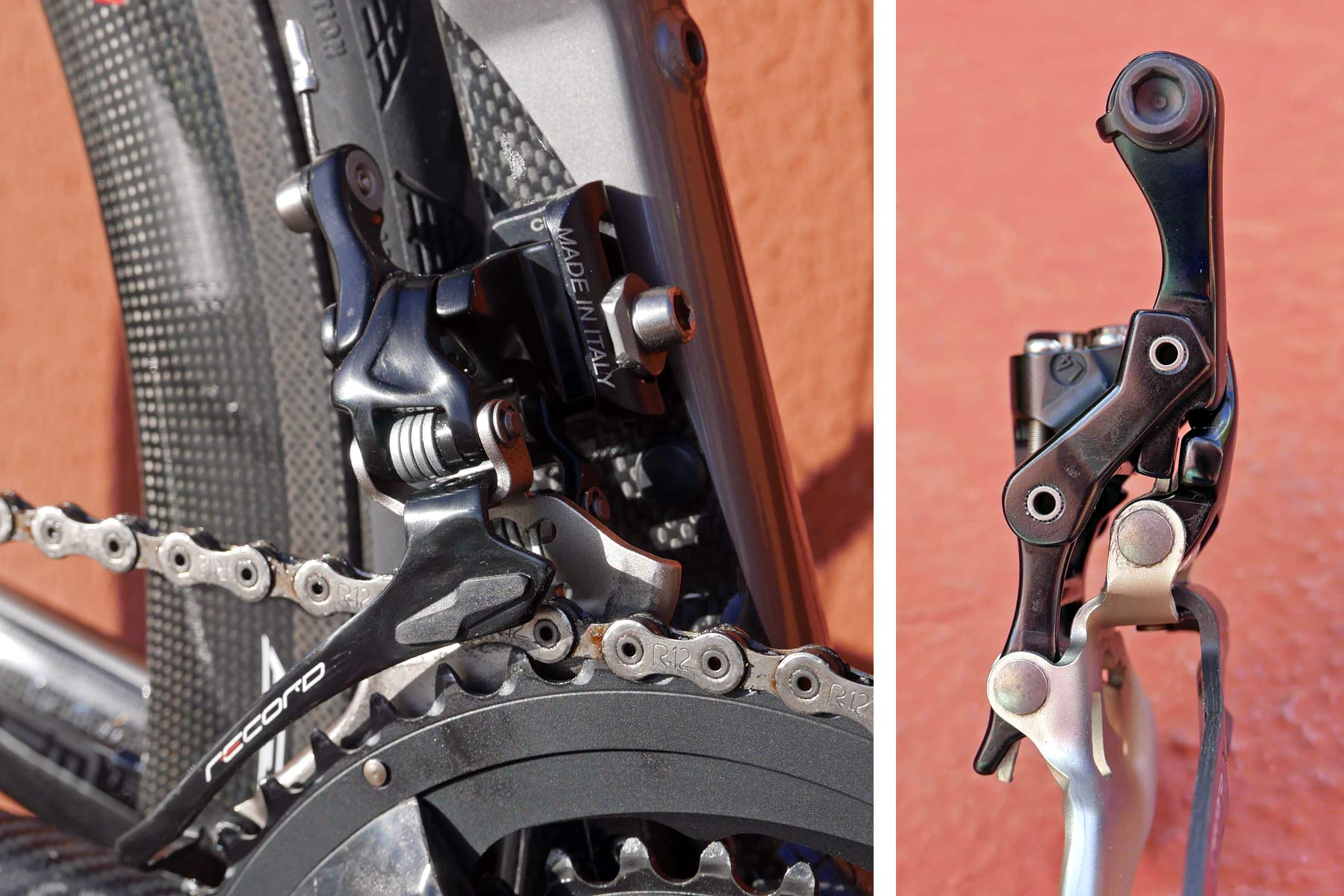 Lever Arm Depth : Hands on campagnolo super record speed road