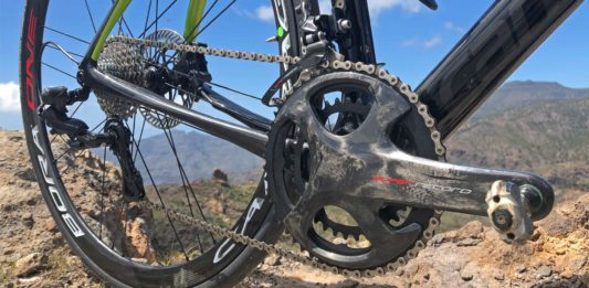 Campagnolo Super Record 12-speed Movement 12 mechanical shift hydraulic disc brake carbon road bike groupset Cannondale Synapse new twelve-speed drivetrain