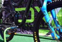 DVO Topaz 2 rear shock for Giant Reign and Trance mountain bikes adds more air volume and controls