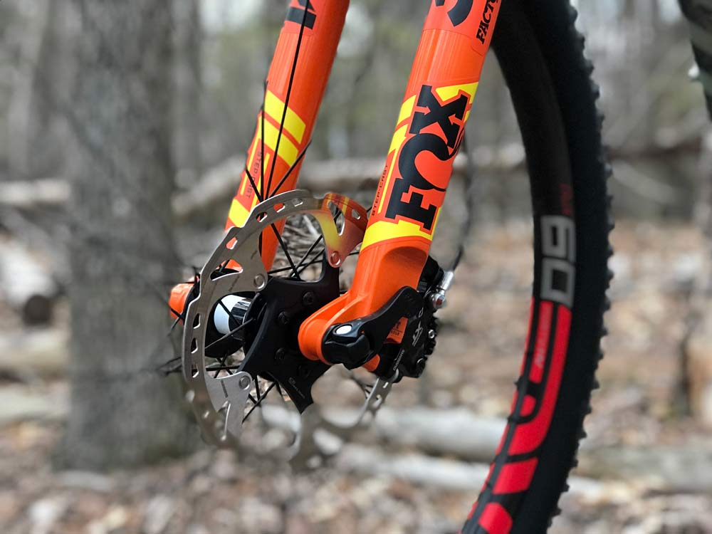 2019 Fox 34 SC 120mm lightweight trail mountain bike suspension fork first look details and weight