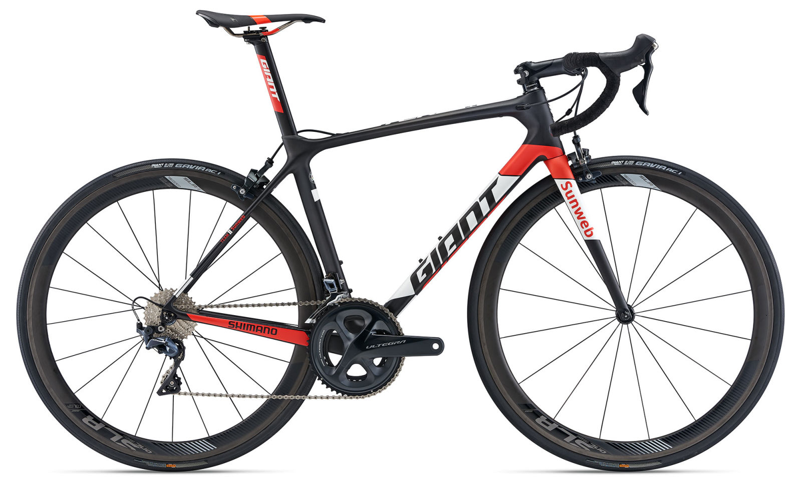 2018 Giant TCR Advanced Team issue limited edition aero road bike
