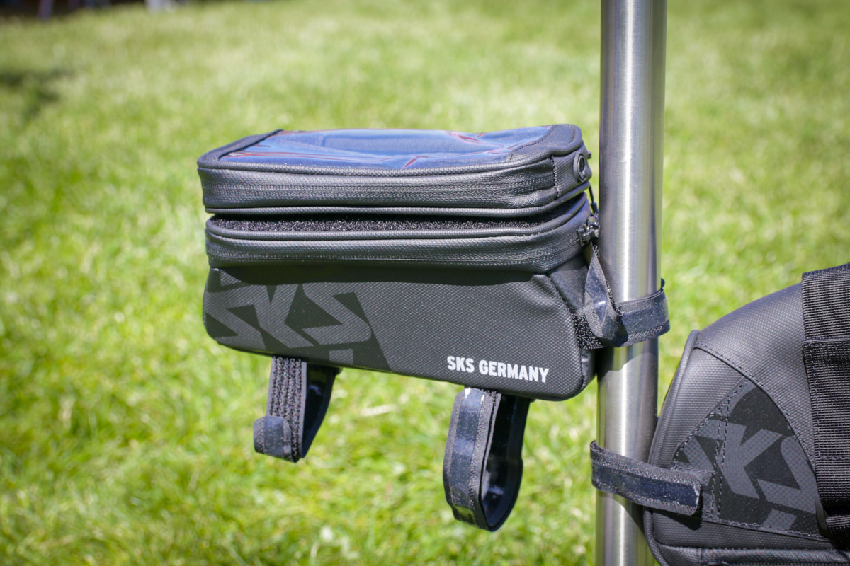 SOC18: SKS improves the Airchecker, adds new bags for seats, frames, & top tubes