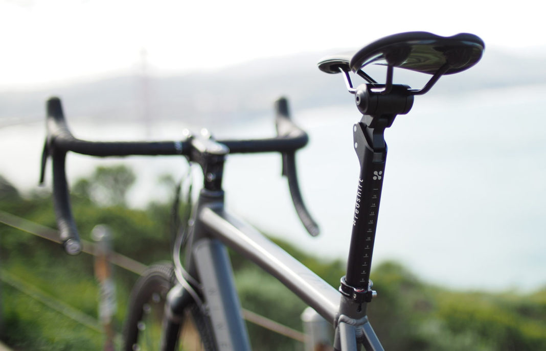 Redshift Sports Shockstop suspension seatpost for gravel bikes and hardtail mountain bikes