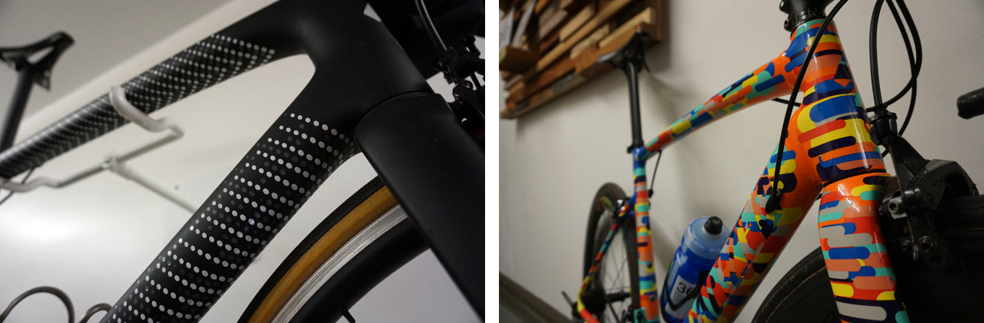 specialized headquarters factory tour - custom employee and concept bikes and paint jobs