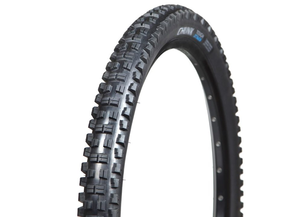 "Terrene Chunk gets chunkier with redesigned 27.5 & 29 x 2.6"" tires"