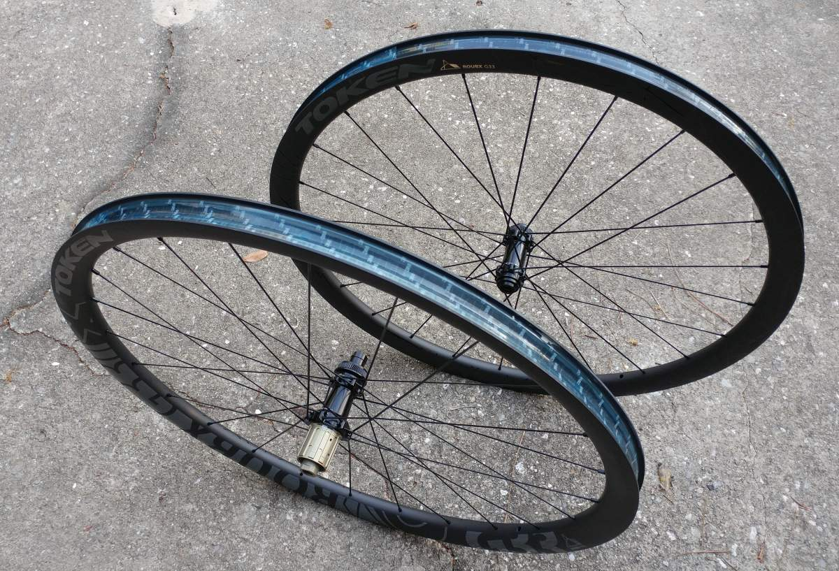 Token RoubX Prime Disc Brake Allroad Wheelset Review and Weights
