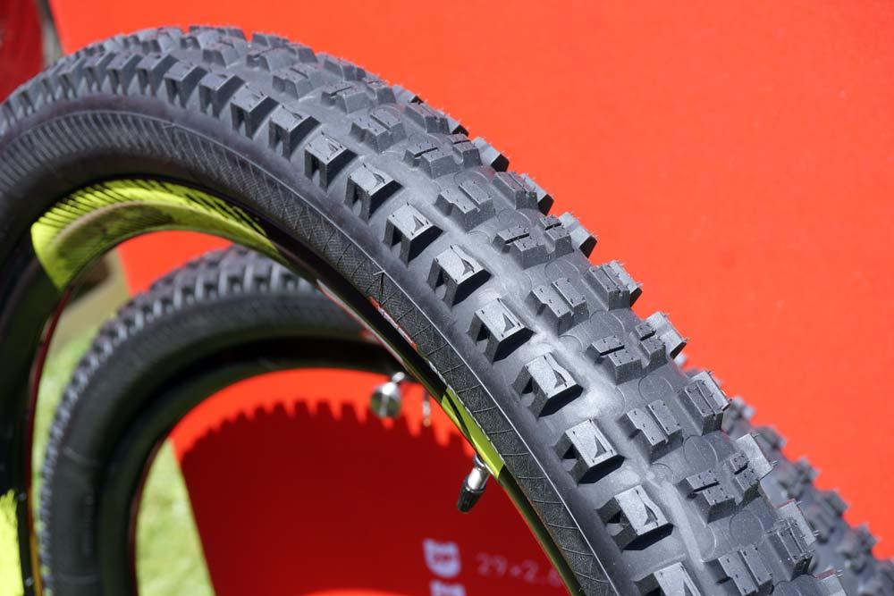 2019 prototype IRC enduro mountain bike tires