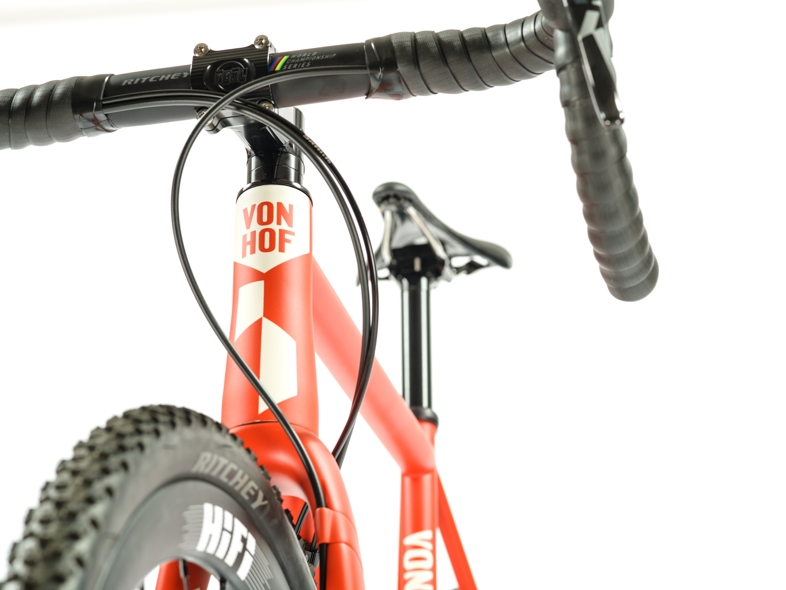 VonHof Steel ACX is a U.S. made cross bike that's ready for the off season