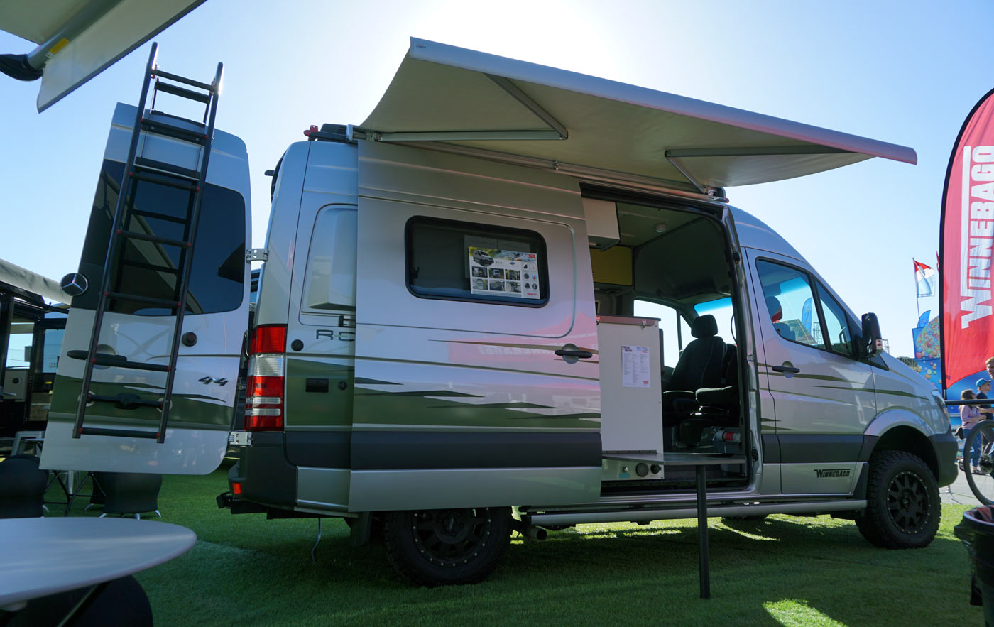 Vanlife Comparing 2019 Winnebago Revel Sprinter 4x4 Travato