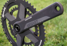 2019 Rotor Vegast road bike cranks are affordable and have modular chainring combos and 1x options for easy swaps