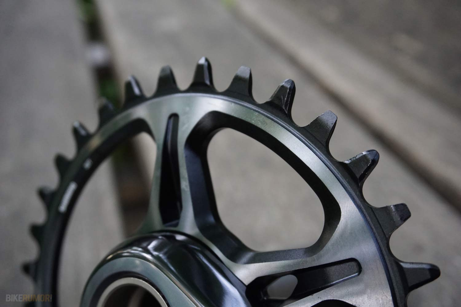 2019 Shimano XTR M9000 crankset and direct mount chainrings