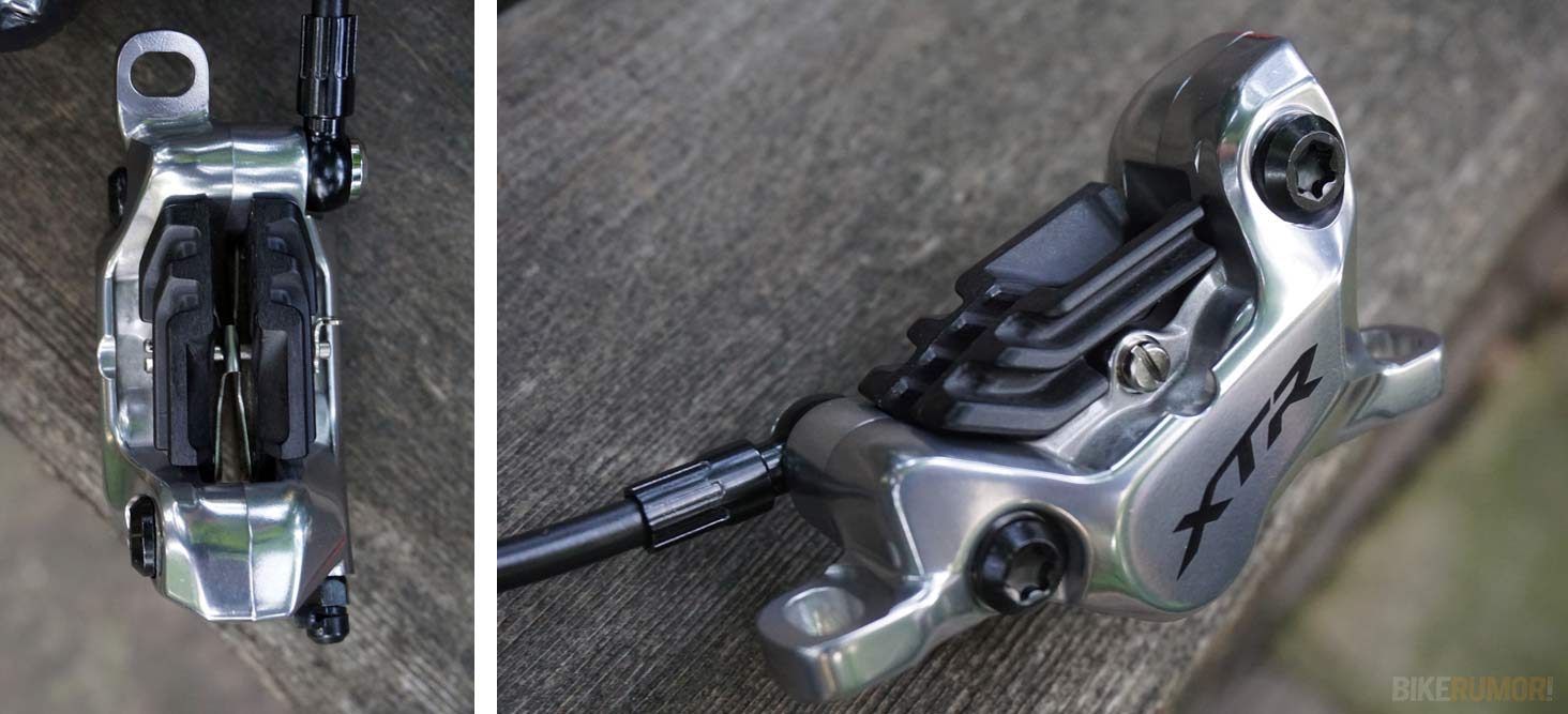 2019 Shimano XTR M9100 Race and Trail hydraulic disc brakes for mountain bikes